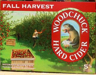 Woodchuck Fall Harvest...